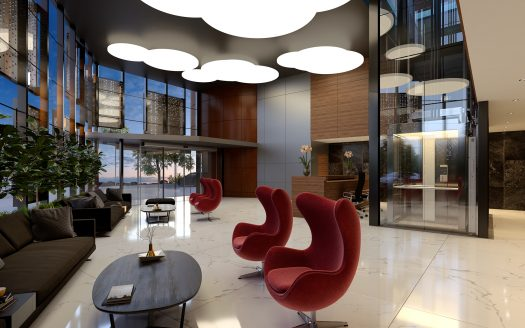 Luxury and high technology offices for sale and rent LOBBY 1  525x328