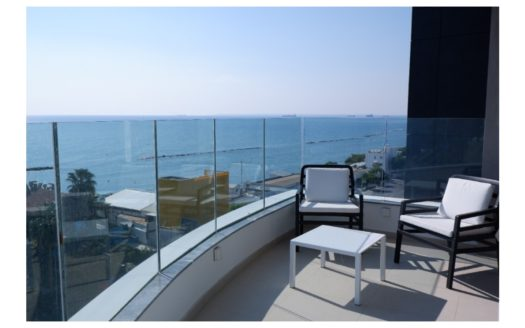 Luxury 2 Bedroom Apartment with Sea View in Mouttagiaka Area