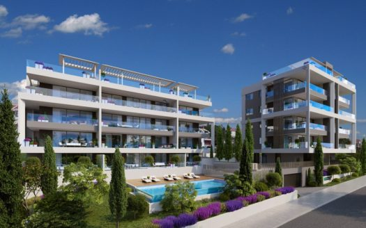 3 Bedroom Apartments with panoramic views of Limassol and Sea