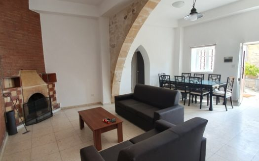 3 Bedroom Stone House in Agios Tychonas