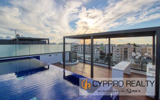 4 Bedroom Penthouse in Potamos Germasogeias Area
