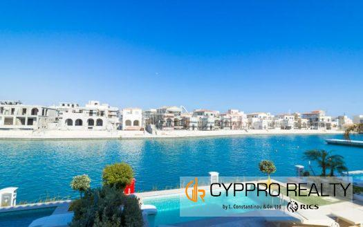 Semi-Detached 3 Bedroom Villa in Limassol Marina